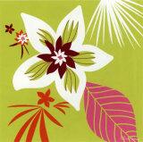 Vert Fleur Blanche