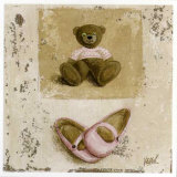 Nounours Rose et Chaussures