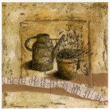 Arrosoir et Pot de Lavande