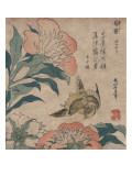 Peony and Canary  circa 1825