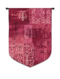 Abstract Damask Wineberry