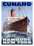 Cunard Line  Hamburg to New York