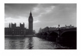 LIFE&#174; - Big Ben and Parliament across Thames River  1950