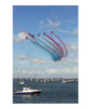 The Red Arrows  Cowes  Isle of Wight  England