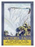 Cunard Line  Victoria Falls  1931