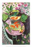 Poissons rouges Reproduction d'art par Henri Matisse