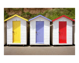 Beach Huts  Shanklin  Isle of Wight  England