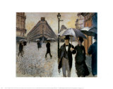 Paris  a Rainy Day  1877