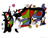 Œuvre Reproduction d'art par Joan Miró
