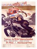 Courses de l'Eifel Internationales Giclée par Alfred Hierl