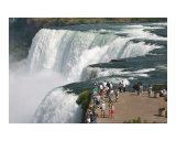 Viewing Niagara Falls from Luna Island