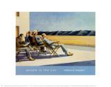 Gens au soleil, 1960 Reproduction d'art par Edward Hopper