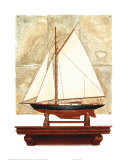 Yacht and Antique Map II