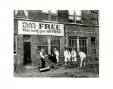 Miniature Golf at Tailor's Shop  1930