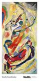 Toile numéro 200 Reproduction d'art par Wassily Kandinsky