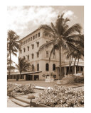 Historic Galle Face Hotel  Sepia