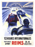 12 Heures International Reims  1954