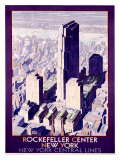Rockefeller Center Railroad  c1934