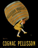 Cognac Pellisson Reproduction d'art par Leonetto Cappiello