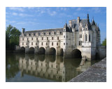 Chenonceau spanning the Cher River