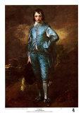 L'enfant bleu Reproduction d'art par Thomas Gainsborough