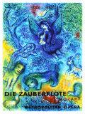 La flûte enchantée Giclée par Marc Chagall