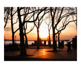 Battery Park During a NYC Sunset