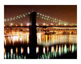 East River Bridges of New York City in Lower Manhattan