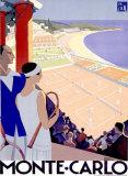 Monte-Carlo Giclée par Roger Broders