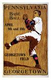 Vintage Georgetown Baseball