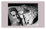 Toy Poodle Kisses Elvis