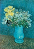 Vase of Lilacs  Daisies and Anemones  c1887