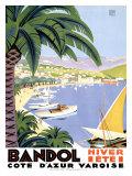 Bandol Giclée par Roger Broders