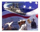 Go Navy Collage