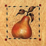 Stenciled Pear II