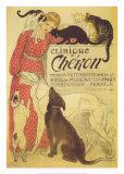 Clinique Cheron Reproduction d'art par Théophile Alexandre Steinlen