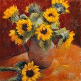 Jug of Sunflowers