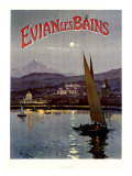 French Evian les Bains  1905