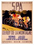 Spa - Derby de la montagne Giclée par Charles Gilbert