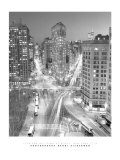 Flatiron Building at Night Reproduction d'art par Henri Silberman