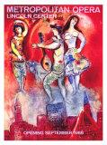 Metropolitan Opera Giclée par Marc Chagall
