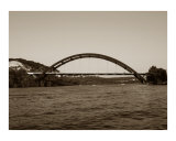 360 Bridge in Sepia Tones