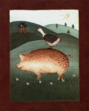 Pig with Goose