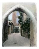 Road in Rousillon  Provence