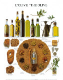 L'olive Reproduction d'art