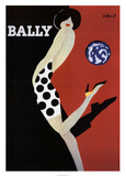 Bally Reproduction d'art par Bernard Villemot