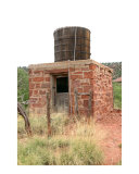 Old Outhouse w/ Water Tank