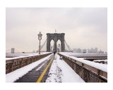 Brooklyn Bridge Snow Day