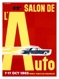 52nd Salon de l&#39;Auto  1965