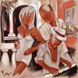 Havana Piano Reproduction d'art par Pierre Farel
